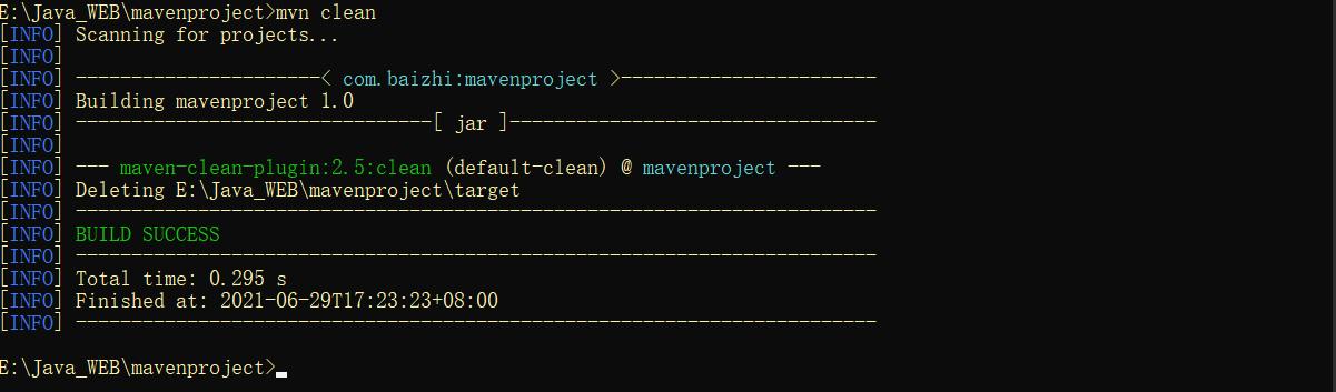 maven的环境搭建与手工搭建maven项目-图文教程插图12