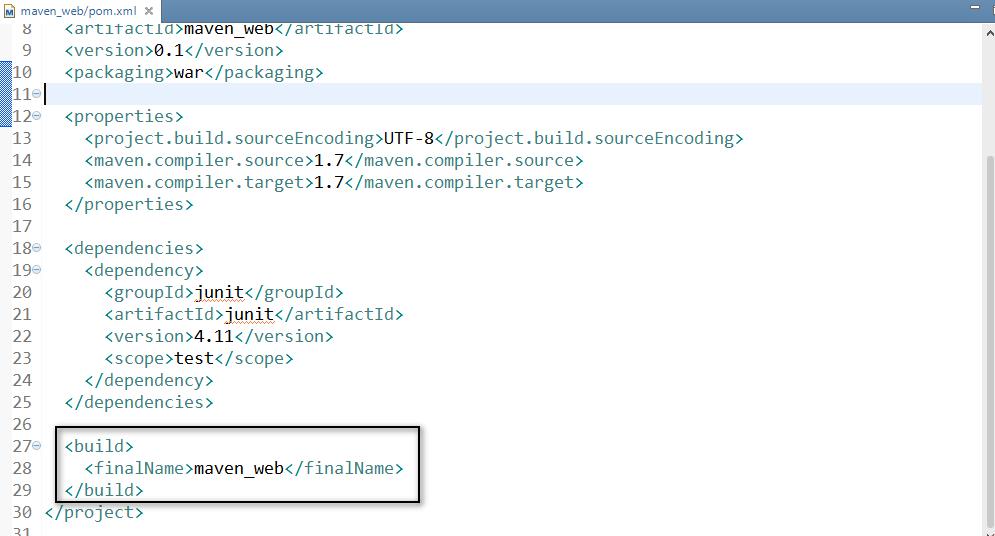在MyEclipse2014中配置maven与创建maven的web项目插图8