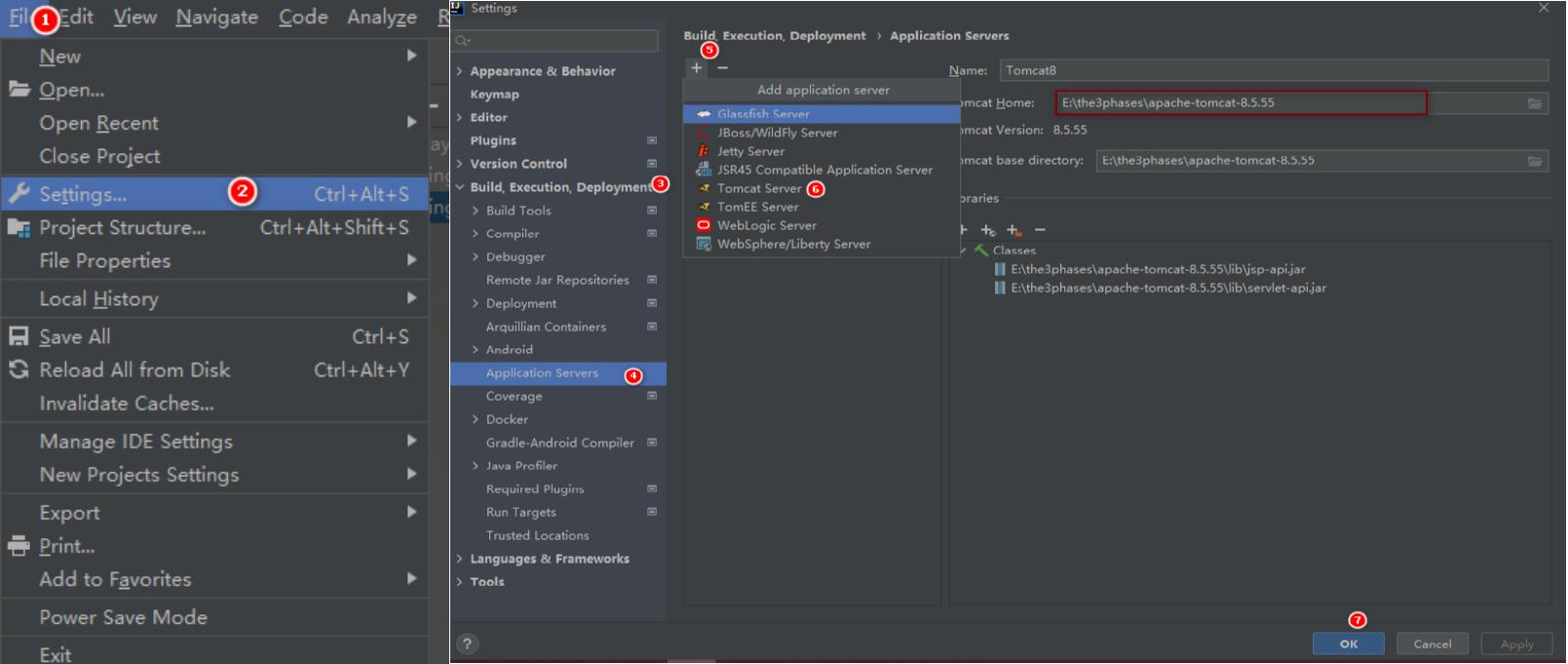 在IDEA开发工具上如何部署Tomcat服务器以及部署Maven创建web项目插图10