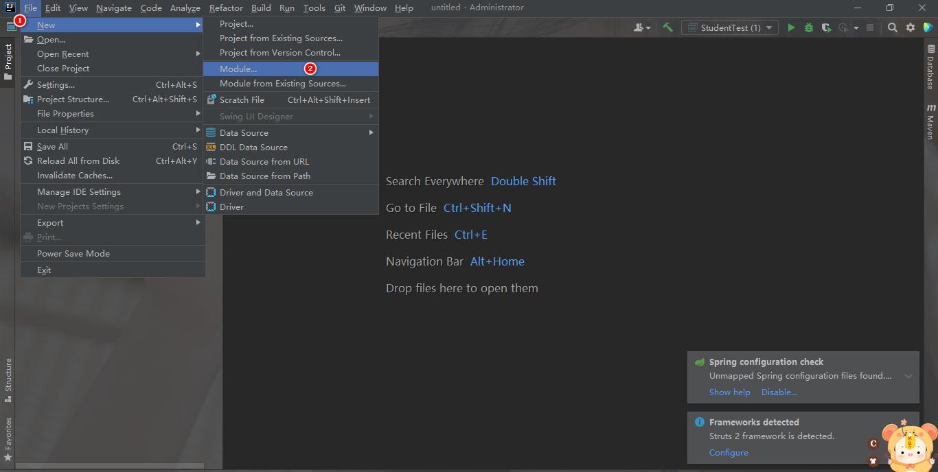 在IDEA开发工具上如何部署Tomcat服务器以及部署Maven创建web项目插图4