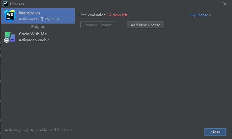 WebStorm JavaScript 开发工具-202-1-2最新版,免费获取WebStorm破解插件,试用版用到爽插图9