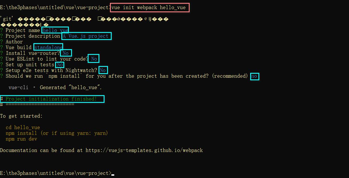 vue-cli脚手架安装环境配置与创建脚手架项目教程插图18